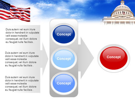 United States Capitol Building PowerPoint Template Slide 11