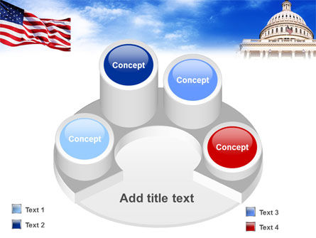 United States Capitol Building PowerPoint Template Slide 12