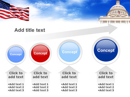 United States Capitol Building PowerPoint Template Slide 13