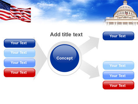 United States Capitol Building PowerPoint Template Slide 14