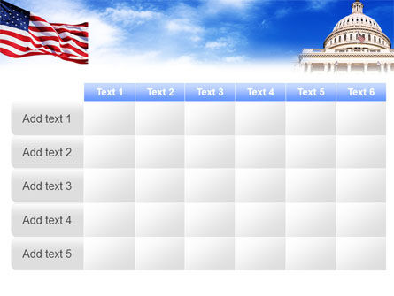 United States Capitol Building PowerPoint Template Slide 15
