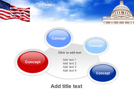 United States Capitol Building PowerPoint Template Slide 16