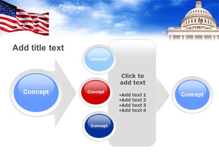 United States Capitol Building PowerPoint Template Slide 17