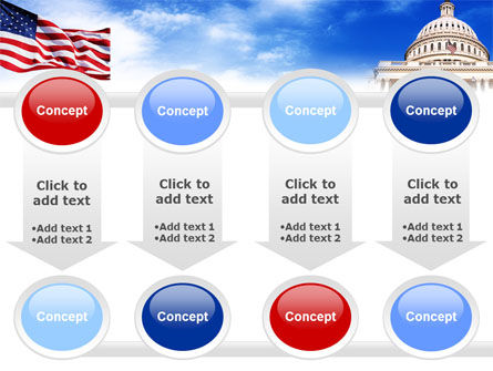 United States Capitol Building PowerPoint Template Slide 18
