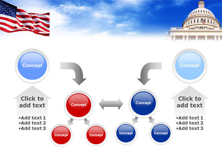United States Capitol Building PowerPoint Template Slide 19