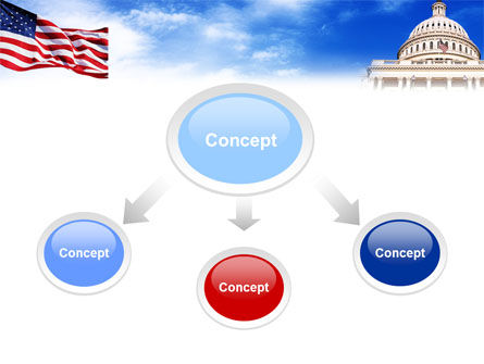 United States Capitol Building PowerPoint Template Slide 4