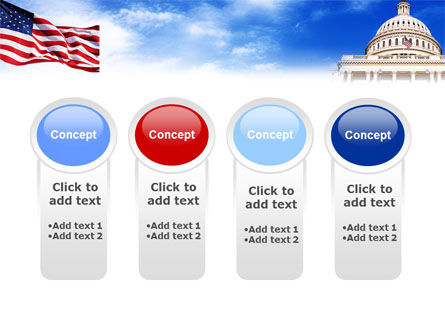 United States Capitol Building PowerPoint Template Slide 5