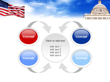United States Capitol Building PowerPoint Template Slide 6