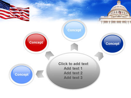 United States Capitol Building PowerPoint Template Slide 7