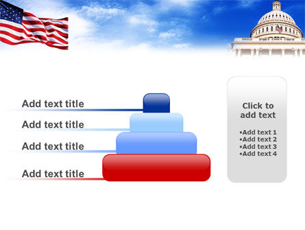 United States Capitol Building PowerPoint Template Slide 8