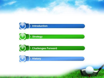 Golf PowerPoint Template Slide 3