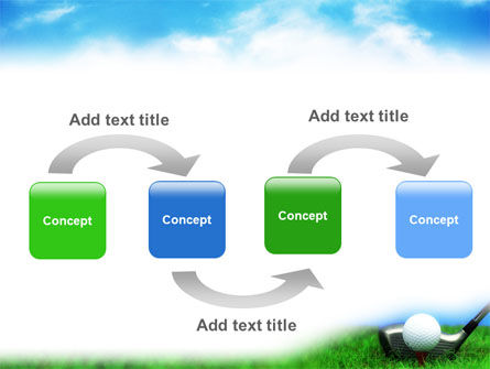 Golf PowerPoint Template, Slide 4, 01768, Sports — PoweredTemplate.com