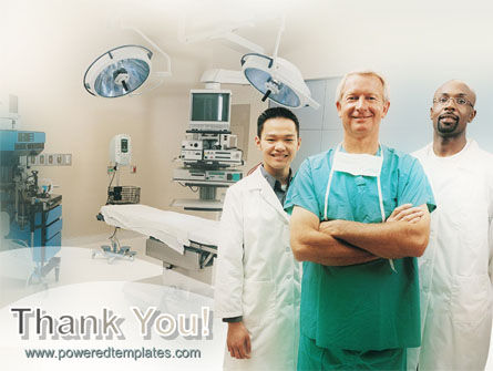 Medical Staff In The Operating Room PowerPoint Template Slide 20