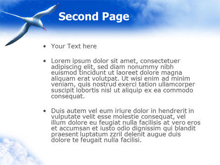 Sea Gull PowerPoint Template Slide 2