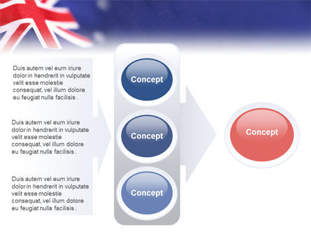 Australian Flag PowerPoint Template Slide 11