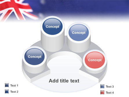 Australian Flag PowerPoint Template Slide 12