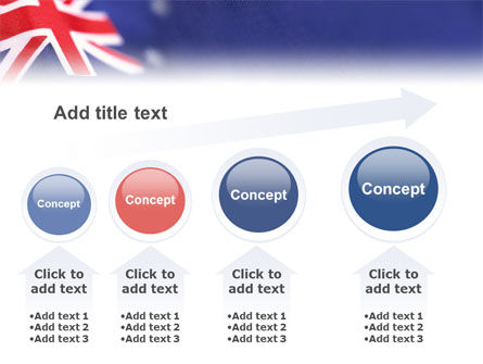 Australian Flag PowerPoint Template Slide 13
