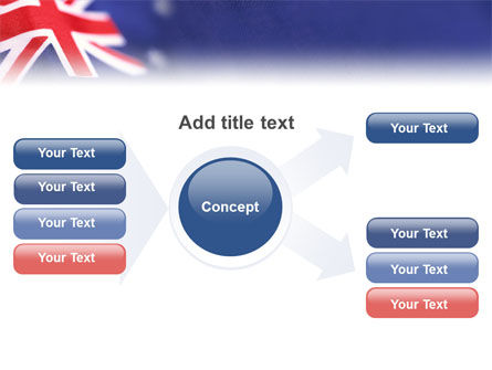 Australian Flag PowerPoint Template Slide 14