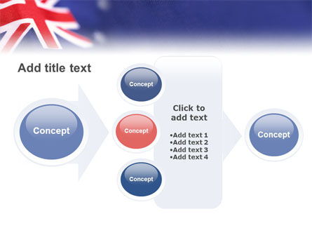 Australian Flag PowerPoint Template Slide 17