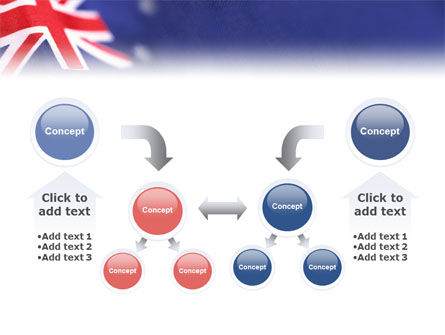 Australian Flag PowerPoint Template Slide 19