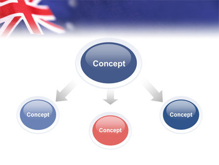 Australian Flag PowerPoint Template Slide 4