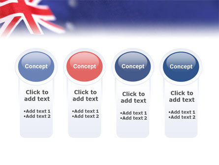 Australian Flag PowerPoint Template Slide 5