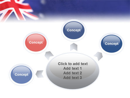 Australian Flag PowerPoint Template Slide 7