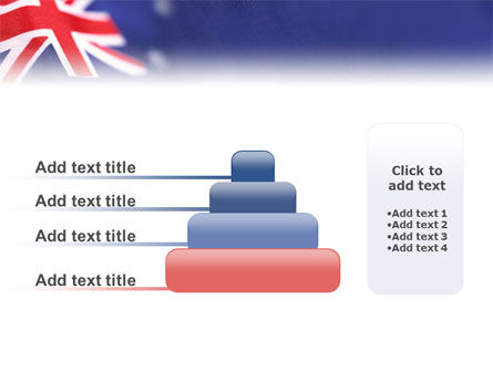 Australian Flag PowerPoint Template Slide 8