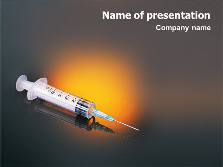 Medical: Shot PowerPoint Template #01775