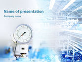 Utilities/Industrial: Manometer PowerPoint Template #01776