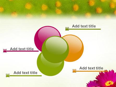 Bright Flower PowerPoint Template Slide 10