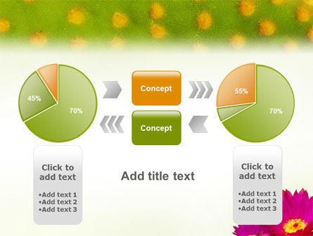 Bright Flower PowerPoint Template Slide 11