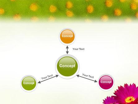 Bright Flower PowerPoint Template Slide 14