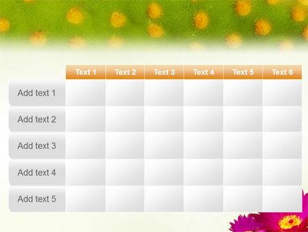 Bright Flower PowerPoint Template Slide 15