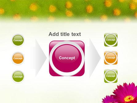 Bright Flower PowerPoint Template Slide 17