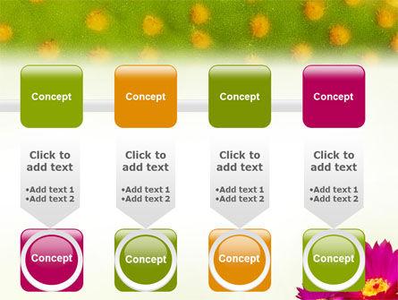 Bright Flower PowerPoint Template Slide 18