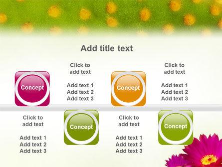 Bright Flower PowerPoint Template Slide 19