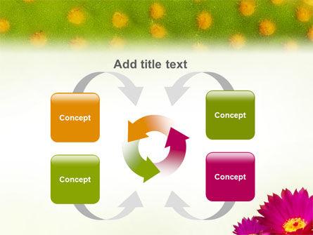 Bright Flower PowerPoint Template Slide 6