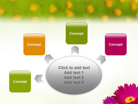 Bright Flower PowerPoint Template Slide 7