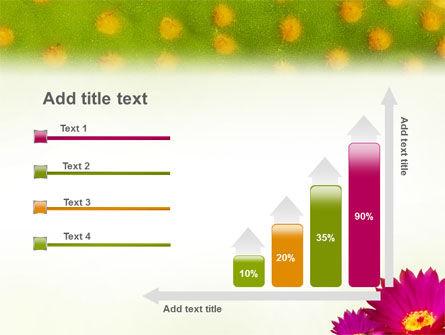 Bright Flower PowerPoint Template Slide 8
