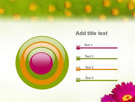Bright Flower PowerPoint Template Slide 9