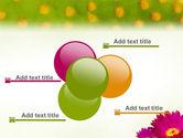 Bright Flower PowerPoint Template#10