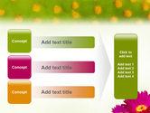 Bright Flower PowerPoint Template#12