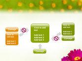 Bright Flower PowerPoint Template#13