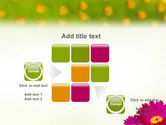 Bright Flower PowerPoint Template#16