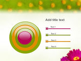 Bright Flower PowerPoint Template#9