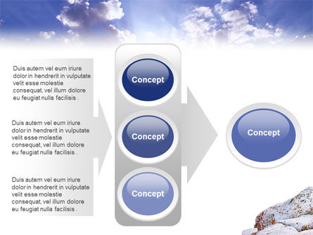 Hiking On The Top Of The Mountain PowerPoint Template Slide 11