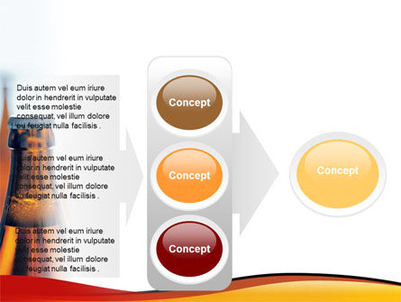 Bottles of Beer PowerPoint Template Slide 11
