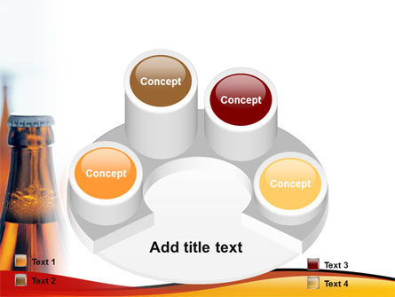 Bottles of Beer PowerPoint Template Slide 12