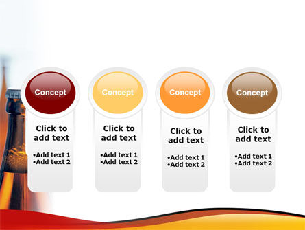 Bottles of Beer PowerPoint Template Slide 5
